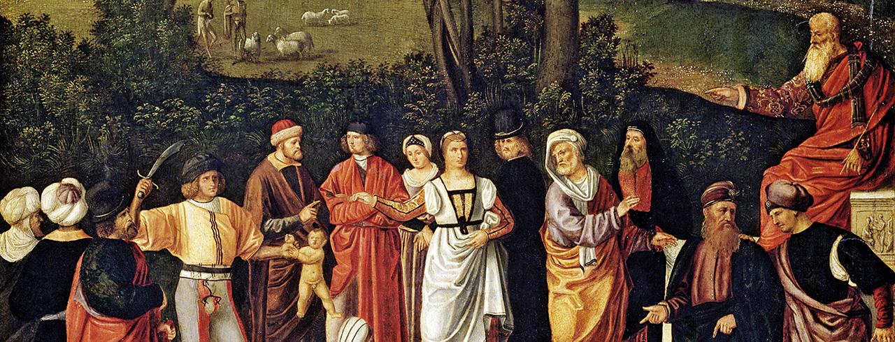El juicio de Salomón, Ca. 1500-1501