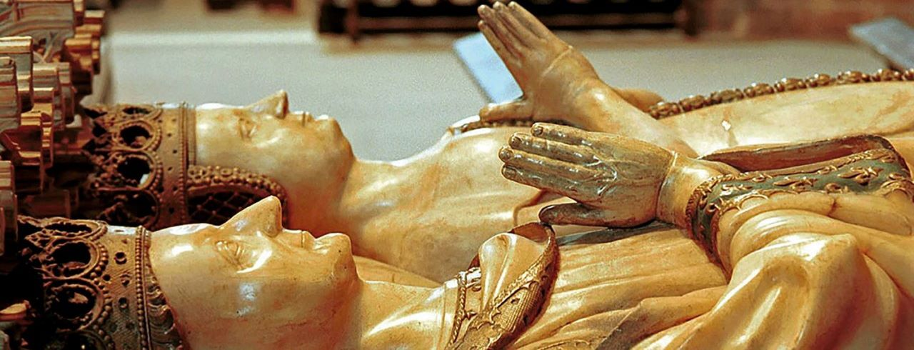 Sepulcro de Carlos III el Noble y doña Leonor de Trastámara (1413-1419)